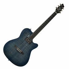 Godin A6 Ultra Denim Blue Flame Finish Electric Guitar