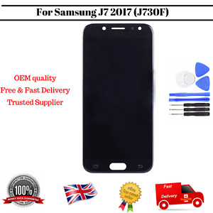 Display For Samsung Galaxy J7 2017 J730F/DS LCD Touch Screen Black Replacement