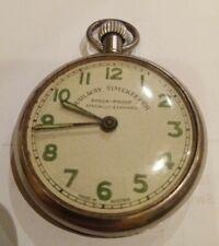 """Watch """"Railway Timekeeper"""" Austria Running 99p No Reserve Vintage Chrome Pocket"""