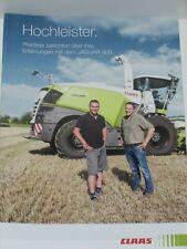 CLAAS JAGUAR 900 Feldhäcksler Praxisberichte Prospekt ( CLAAS 48 )