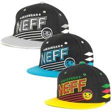 Neff Men's Sporty Flat Brim Snapback Hat Cap