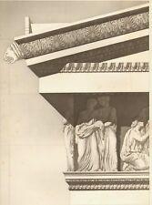 Antiquité-Corniche TEMPLE D'ERECHTHEE à ATHENE. 1905 -Erechtheion