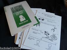 La Lecture Silencieuse - Fin Cp, Ce 1, Fichier De Correction Naidmann