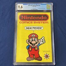 Nintendo Comic Systems Sneak Preview #nn  (1990) CGC 9.6 Valiant Comics Mario