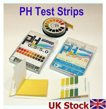PH Test Strips, 4 types to choose from, Indicator Paper, - UK Stock