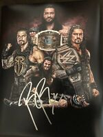ROMAN REIGNS Signed WWE 11x14 Photo Wrestler WWF Champion Autograph #2