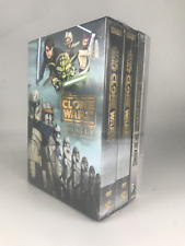 Star Wars The Clone Wars Complete Series Season 1-7 (Dvd, 25-Disc Set) Brand New