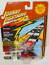 JOHNNY LIGHTNING JLCG018A SPECIAL ANNIVERSARY APPLE RED / BLACK 1934 FORD COUPE
