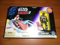 Star Wars Shadows Of The Empire Swoop Vehicle/Swoop Trooper Action Figure NEW