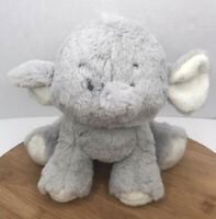 "Ganz Collection Baby Girl Boy 12"" Plush Stuffed Animal Toy Gray Emerson Elephant"