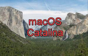 Mac OS Catalina 10.15 USB Flash Drive Installer Bootable Drive