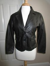 JACKET / COAT - RVT Clothing - Faux Leather - Black - Sz Petite Medium