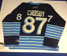 4b931e37d Sidney Crosby Autographed Pittsburgh Penguins Winter Classic Jersey PSA DNA