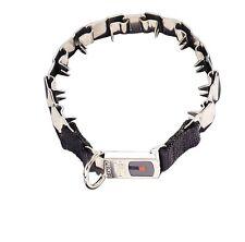 "Training Dog Collar - 19"" - Security Buckle - unique design imitates dog teeth"