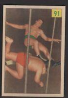 1955 Parkhurst Wrestling #91 Paul Baillargeon