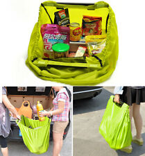 TV Grab Bag Strong Large Reusable Grocery Shopping Bags Travel