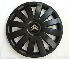 4x15'' Wheel trims Hub caps for Citroen C4 Cactus C3   15'' new black matt