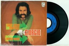 """GIORGIO MORODER """"Lonely Lovers Symphony / Crippled Words"""" SCARCE DUTCH PS 7""""/45"""