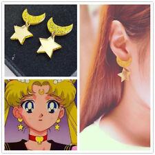 1 Paar Kawaii Anime Stern Moon Ohrstecker Ohrringe Mädchen OhrSchmuck Geschenk