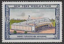 Usa Poster stamp:1939 New York World's Fair: Home Furnishings Bldg - dw433/50