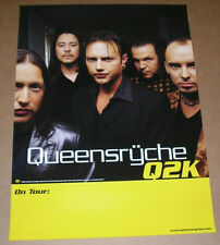 Queensryche Q2K Promo Original 1999 Tour Poster Mint 18x24