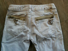 DIESEL KID jeans Stretch blanc Mod CLUSH TAILLE 8 A /30CM  BON ETAT-taille basse