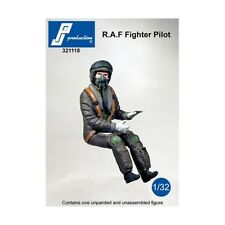 1/32 PJ PRODUCTION RAF FIGHTER PILOT SEATED IN A/C (MODERN)