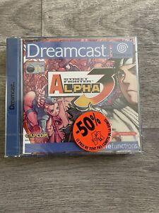 Jeu Sega Dreamcast Street Fighter Alpha 3 NEUF SEALED sous blister souple