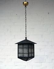 Jugendstil Laterne - Außenlampe - Flurlampe - verglast - um 1910