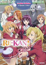 Re-Kan: The Complete Collection (DVD, 2016, 3-Disc Set) Anime Lot New