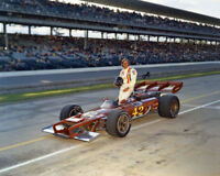 1972 Indy Racecar Driver SWEDE SAVAGE Glossy 8x10 Photo Indianapolis 500 Poster