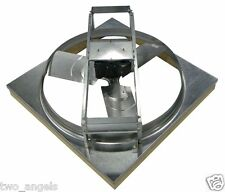 "NIB Dayton Grainger 5NRR9 Assembled Whole House Attic Fan 24""x3 Blade 115V"