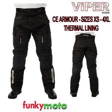Pantaloni impermeabili in poliestere per motociclista taglia L
