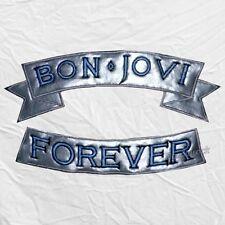 Jon Bon Jovi Forever Embroidered Big Patches New Jersey Jacket Sambora Richie