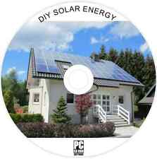 DIY SOLAR PANELS - PV HOME ENERGY SYSTEM - WATER HEATING - SUN POWER GUIDES