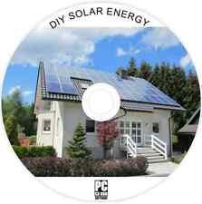 Hágalo usted mismo los Paneles Solares-Fotovoltaicos energía doméstica-De Agua Calefacción-Sol de potencia guías de