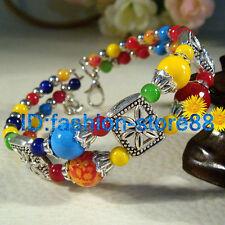 New Arrival Fashion jewelry Tibet Tibetan silver Lucky beads bracelet bangle