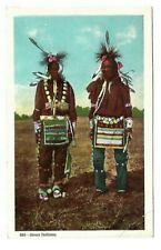 VINTAGE NATIVE AMERICAN INDIAN POSTCARD  #S832 SIOUX INDIANS