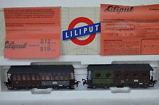 Liliput HO 812 Langenschwalbacher 1419/2654 KPuGHStE + Licht (CD/346-62S9/5)