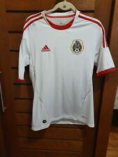MEXICO NATIONAL TEAM 2012 / 2013 AWAY WHITE FOOTBALL SOCCER JERSEY ADIDAS RARE M