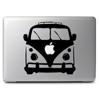 "VW Bug Bus Apple for Macbook Air Pro 11"" 13"" 15"" 17"" Vinyl Decal Sticker Laptop"