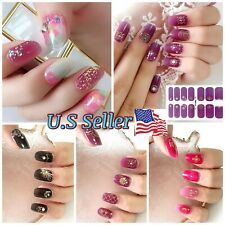Nail Polish Gel Strips Stickers 3D Nail Art Buy 3 Get 2 Free