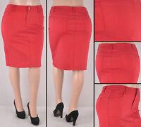 NWT Girls denim lurex long skirt dye blue adustable elastic inside RK-87121k