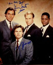 L.A. LAW In-person Signed Cast Photo By Two Stars