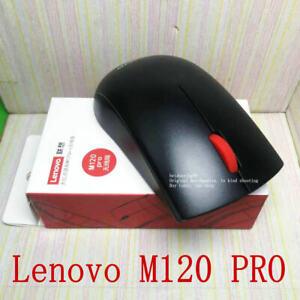 Lenovo M120 PRO big red dot wireless optical mouse notebook desktop game office