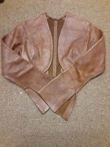 Ravenswood Real Leather Ladies XS Bolero Jacket