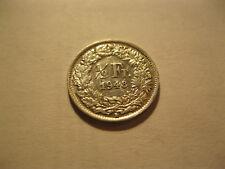 Suisse. Switzerland. 1/2 Franc. Argent. 1948