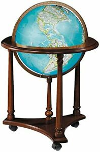 Replogle Kingsley Floor Globe, Antique