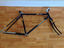 "Panasonic MC 7500 Mountain Cat 18"" lugged steel mountain bike frame from 1988"