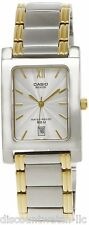Casio Beside BEM100SG-7A Mens Two Tone Stainless Steel Dress Watch 50M Gold
